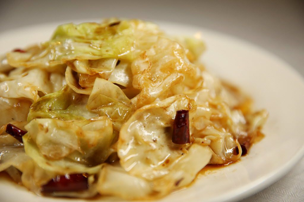 Hot and sour cabbage