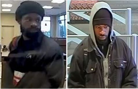 Police shared photos of the man they say robbed two banks in Dallas.