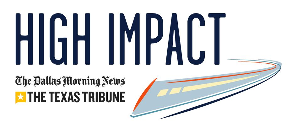 This collaboration between The Dallas Morning News and the Texas Tribune explores how a plan to link Dallas and Houston by high-speed rail highlights a widening divide between Texas' rural roots and its explosive urban-suburban growth.