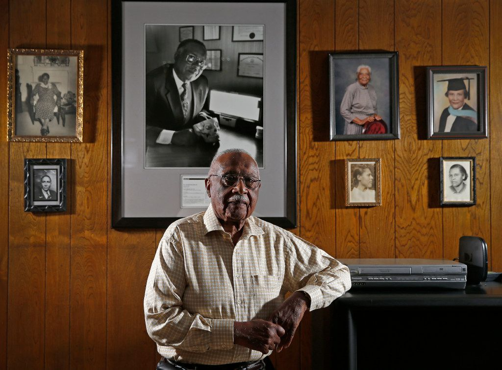 Dr. Claude Williams poses for a photograph at his home in Dallas, Wednesday, April 5, 2017. (Jae S. Lee/The Dallas Morning News)