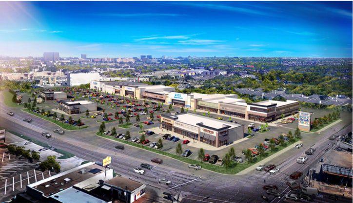 El futuro desarrollo está localizada en un sector favorecido por los minoristas en Northwest Highway, en la intersección de Skillman y Abrams Roads.