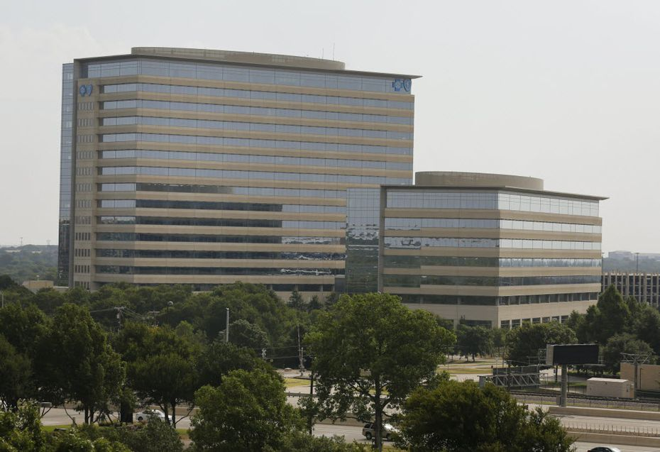 The Richardson headquarters of Blue Cross Blue Shield of Texas. (David Woo/The Dallas Morning News, File)