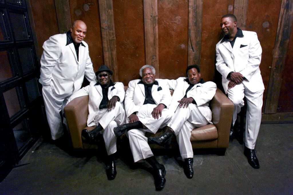 The Relatives, in 2013, from left: Tony Corbitt, the Rev. Gean West, Earnest Tarkington, Tommie West and Tyron Edwards (Yana Paskova/The New York Times)