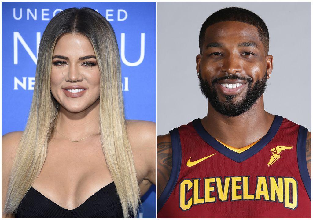 Khloé Kardashian y Tristan Thompson se convirtieron en padres de una pequeña./AP