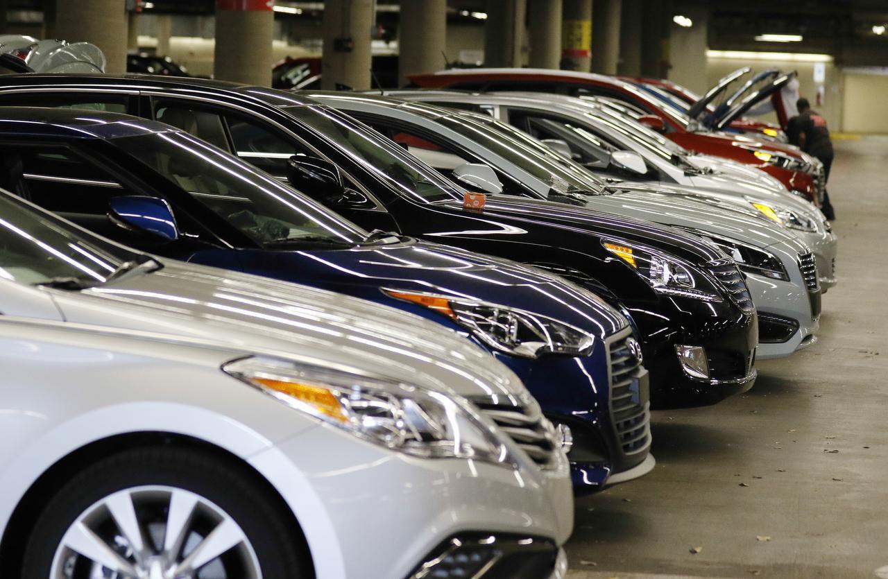 Un grupo de vehículos Hyundai que se exhibirán en el DFW Auto Show esta semana. (DMM/DAVID WOO)
