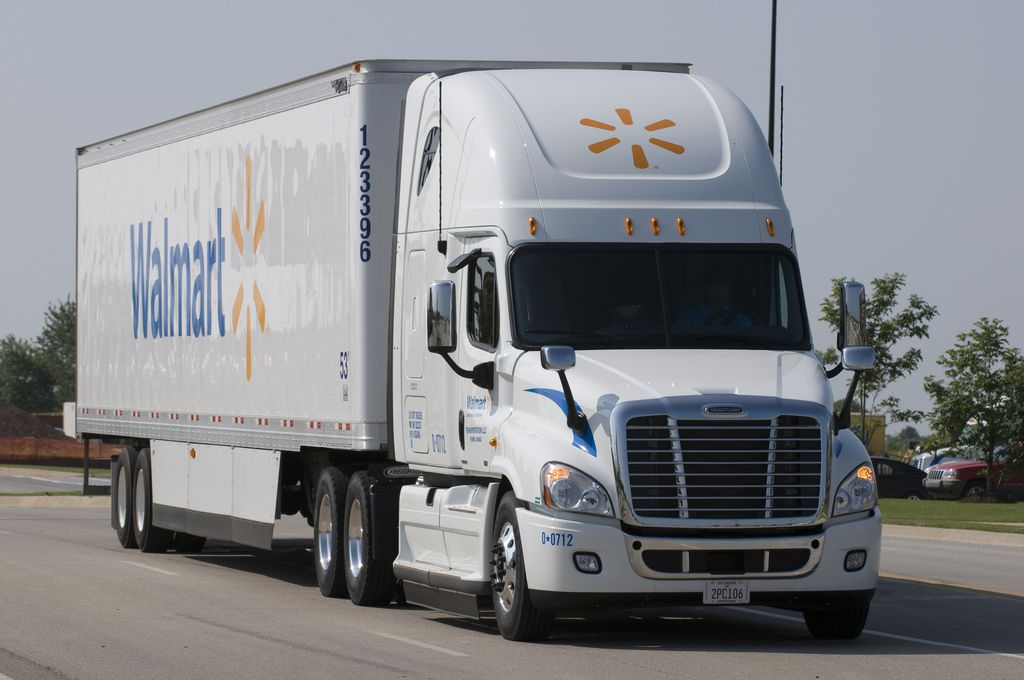 Bloomberg news reported on Sept. 10, 2018 that Walmart is doubling its spending to attract new truck drivers this year.