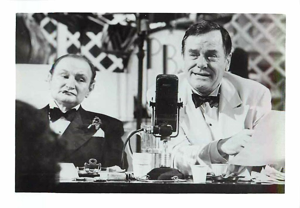Al Lewis and Gig Young in the 1969 movie, They Shoot Horses, Don't They?, which earned Jane Fonda an Oscar nomination for best actress, her first. The film is based on a novel written by a writer once worked in Dallas.