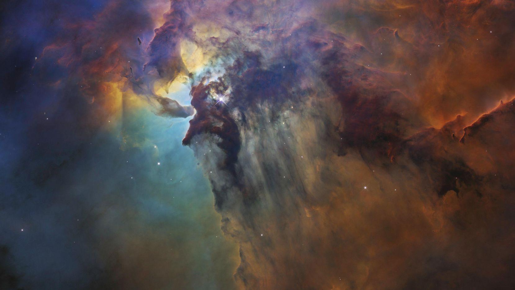 Imagen tomada por el telescopio Hubble de la estrella Herschel 36.(AP)
