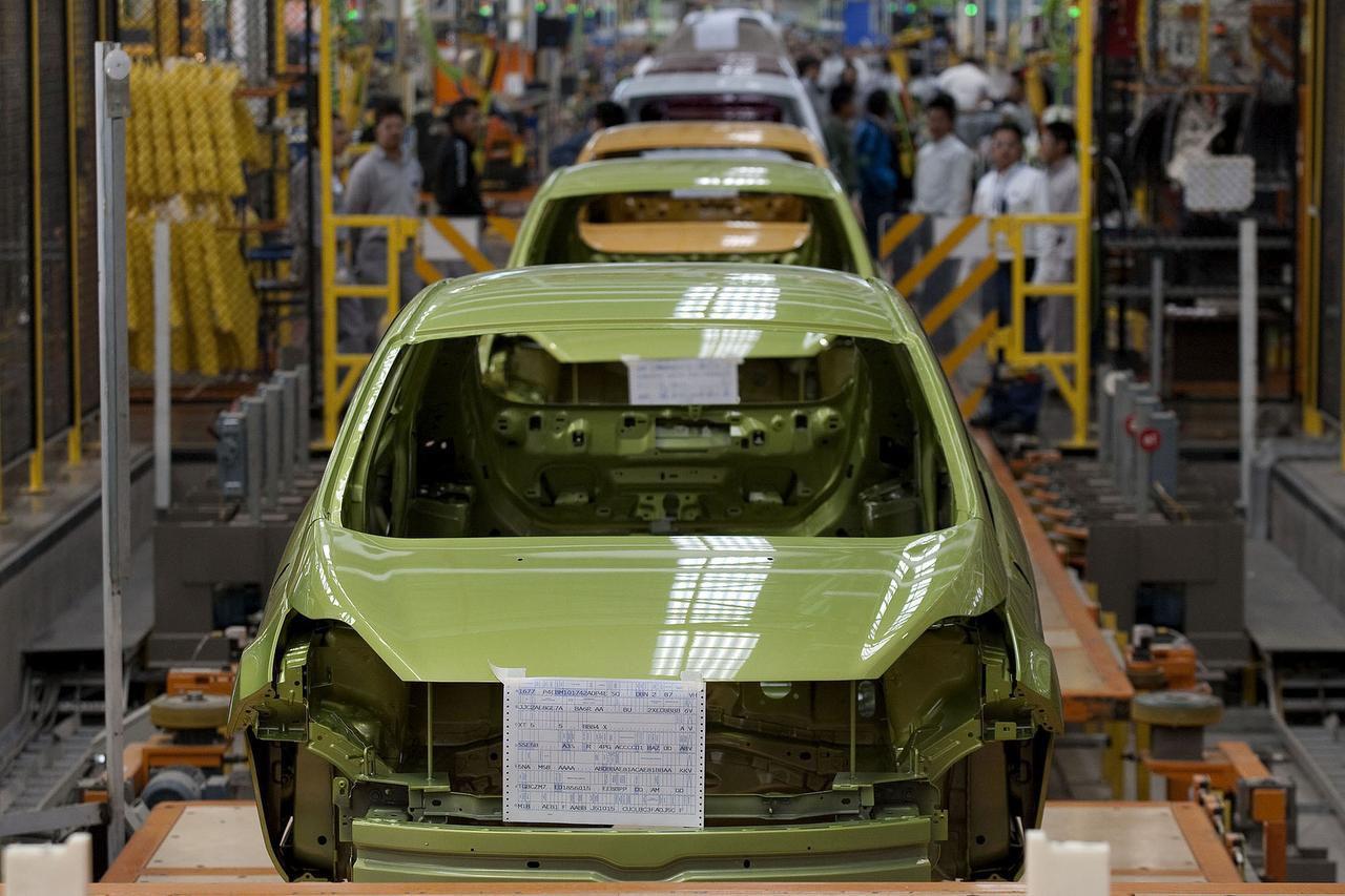 Una planta de Ford Motors Co. en Cuautitlan Izcalli, cerca de la Ciudad de México.(AP)