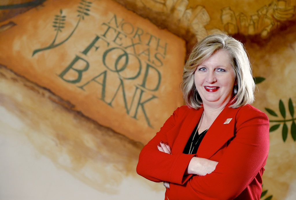 Trisha Cunningham, CEO and president of the North Texas Food Bank, will be eating her way through DFW Restaurant Week, which benefits the food bank in Dallas and Lena Pope, a Tarrant County charity.