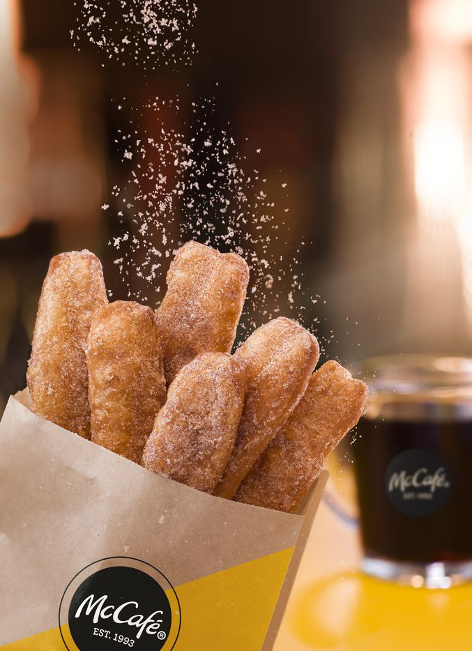 McDonald's Donut Sticks come in quantities of six and 12. They're available as of Feb. 20, 2019 in North Texas.