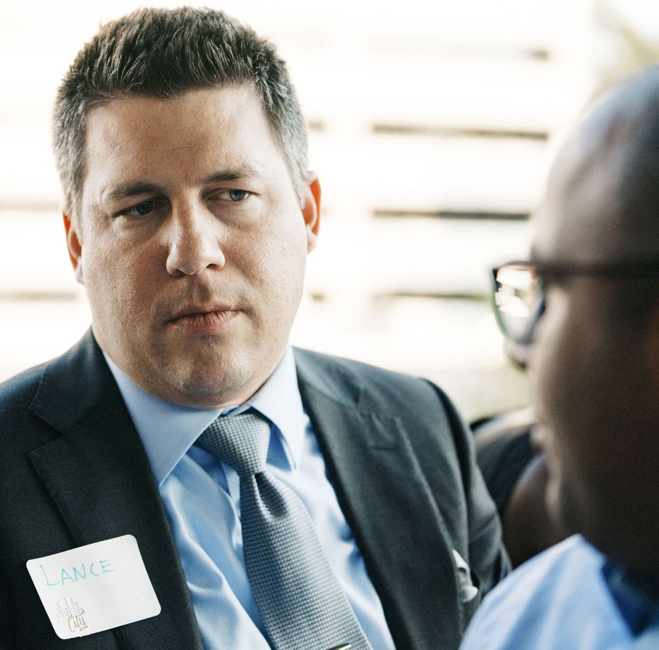 Lance Currie, a partner at Carrington Coleman law firm, was a member of the planning committee for the REAL City fellows.