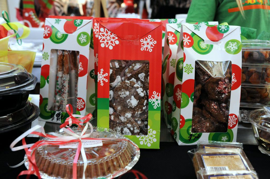 Cookies are sold at the NorthPark Center bake sale befitting the North Texas Food Bank in Dallas, TX on December 19, 2015. (Alexandra Olivia/ Special Contributor)