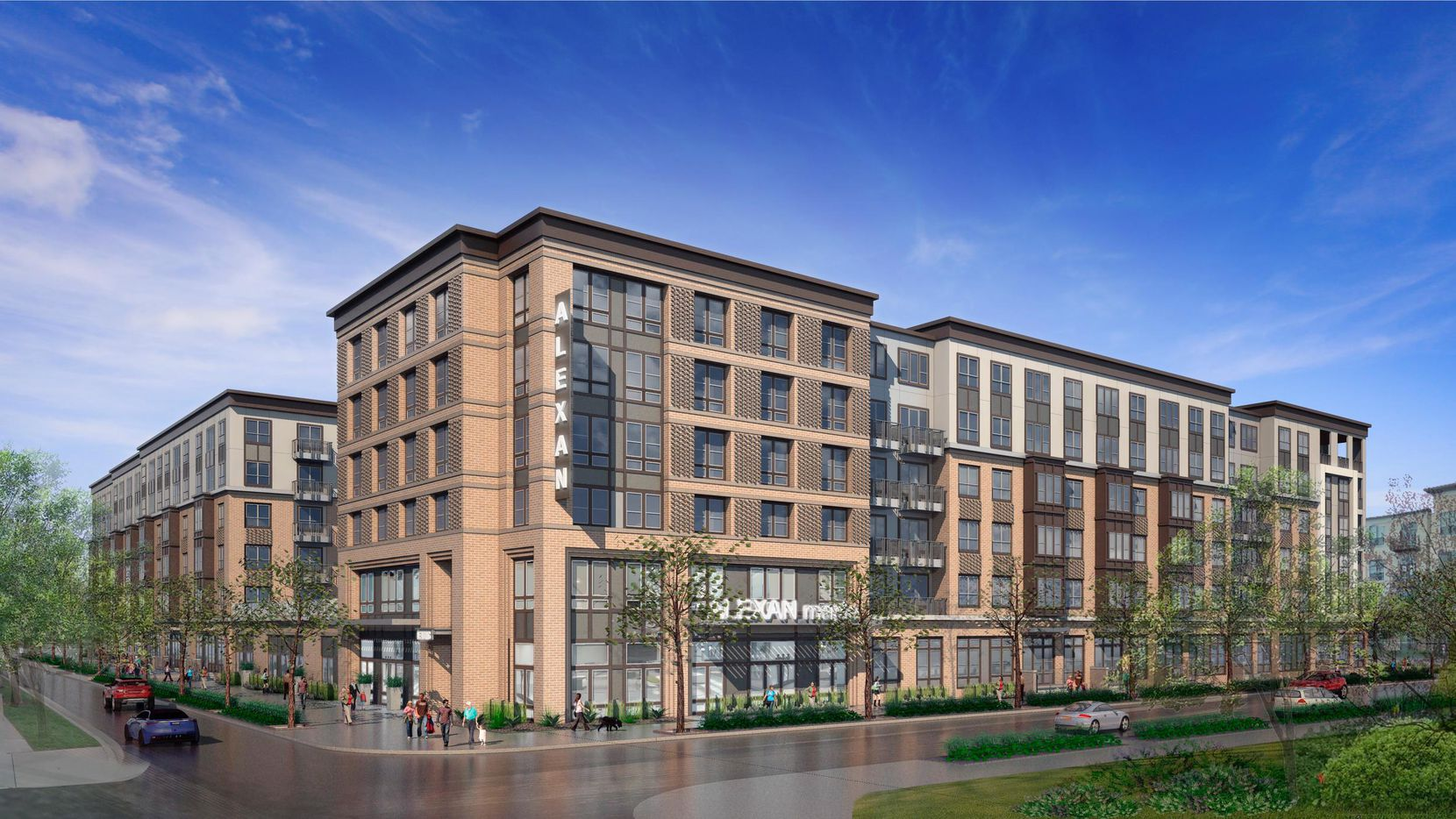 Trammell Crow Residential's new Maple Avenue corridor project will be six floors.