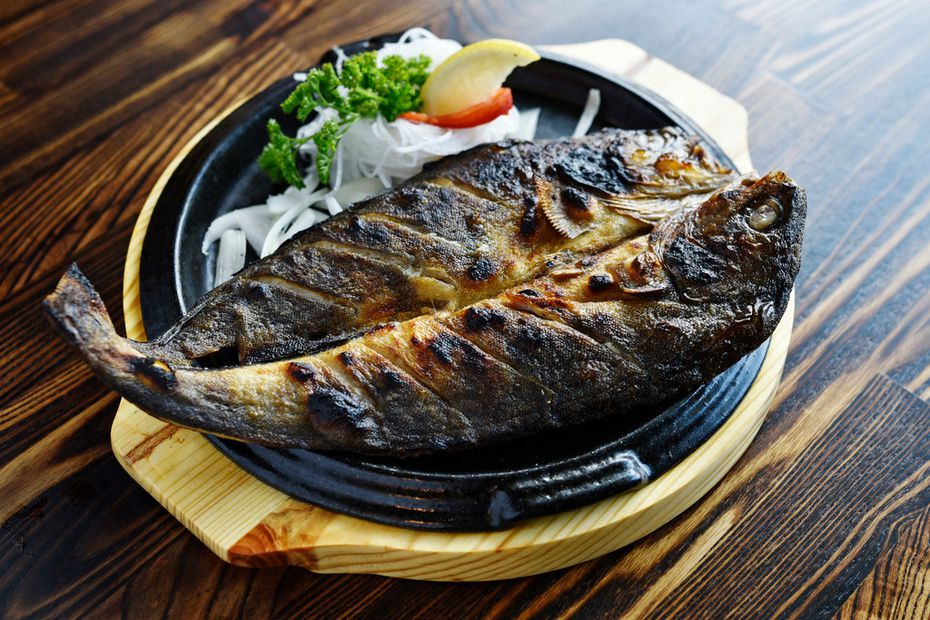 Atka mackerel is one of the whole-fish dishes at BCD Tofu House in Carrollton.
