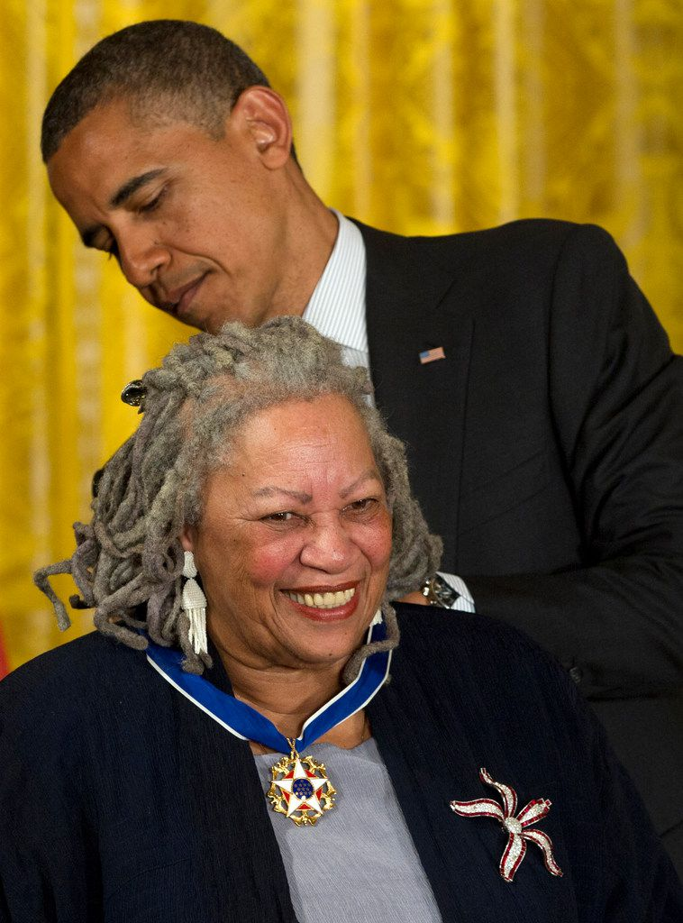 President Barack Obama awarded author Toni Morrison a Medal of Freedom during a 2012 ceremony in the East Room of the White House in Washington.