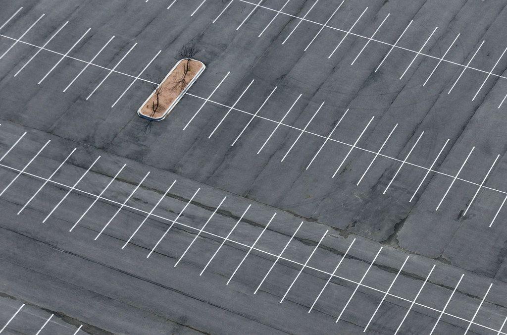 The city leases an empty parking lot in the 2200 block of Burbank Street in Dallas near Love Field.