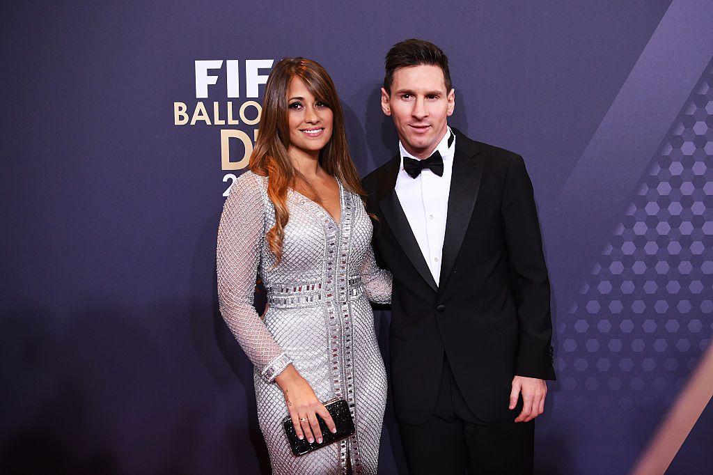 Lionel Messi y Antonella Roccuzzo se casarán el 30 e junio en Rosario, Argentina. Foto GETTY IMAGES