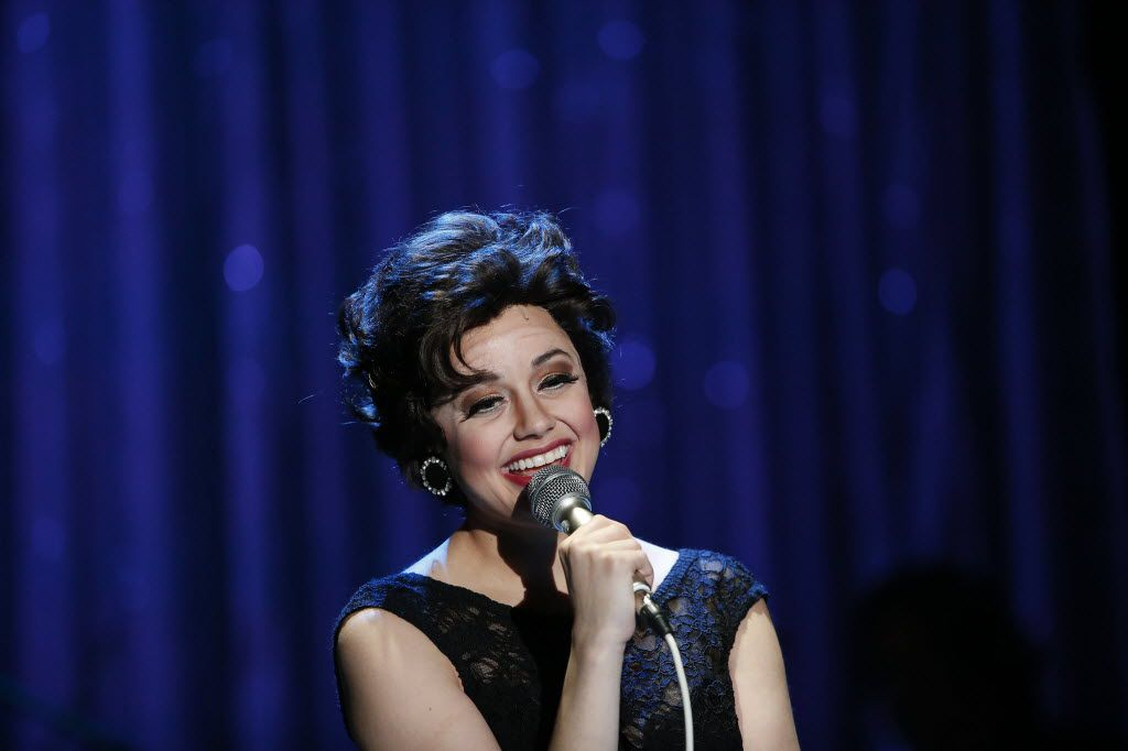 Janelle Lutz, playing Judy Garland, performs in End of the Rainbow for Uptown Players at the Kalita Humphreys Theater in 2016. Lutz will play Garland in Uptown Players' in the world premiere holiday tribute, A Very Judy Christmas, scripted and directed by B.J. Cleveland, Dec. 1-16 at the Kalita Humphreys Theater.