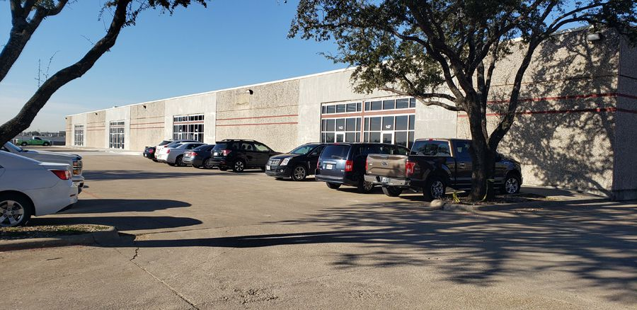 Team ProMark moved its operations to an office and warehouse building near Interstate 35W