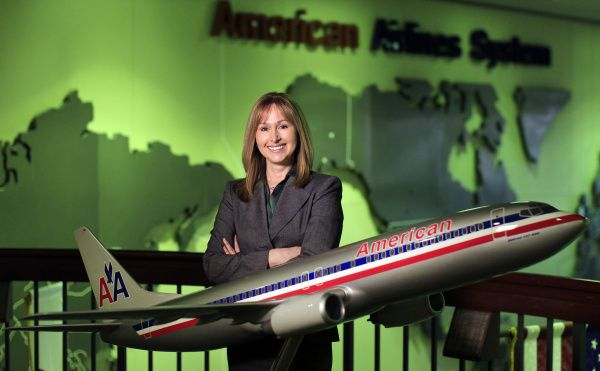 Marjorie Powell, assistant general counsel at American Airlines, coordinates pro bono work for the carrier's 40 in-house attorneys. The company, among the first to implement a formal pro bono program, requires each lawyer to do 10 hours of pro bono work each year.