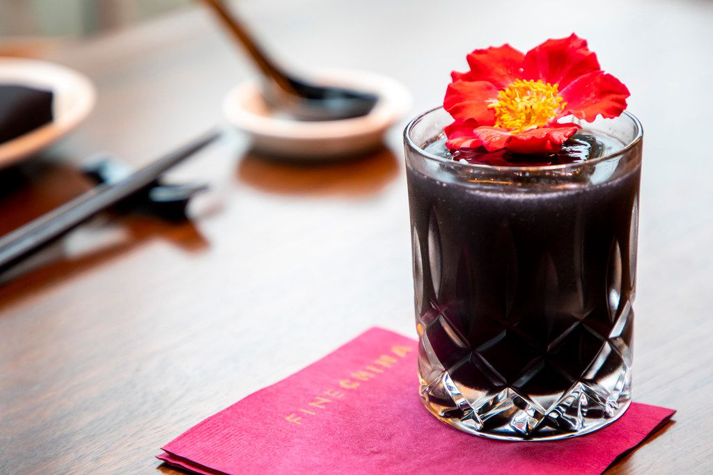 Ever sampled a black cocktail? Pitch Black at Fine China, a new Dallas restaurant, is a gin drink that gets its color from activated charcoal.