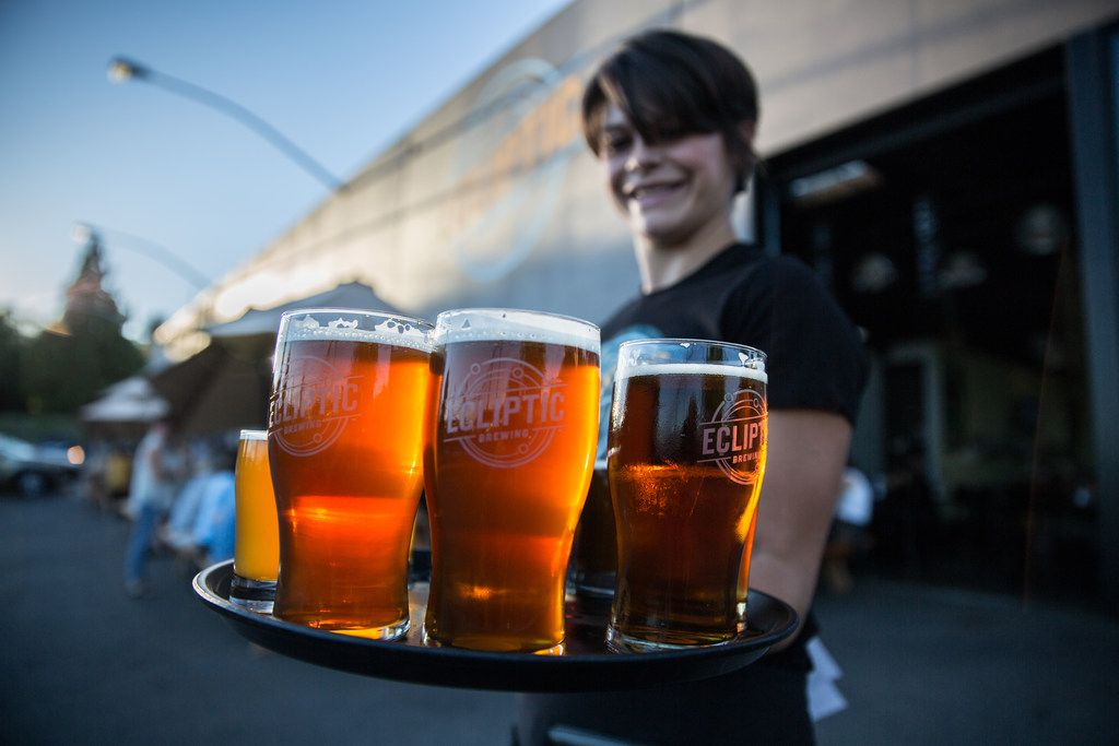 Ecliptic Brewing is among Portland's many breweries.