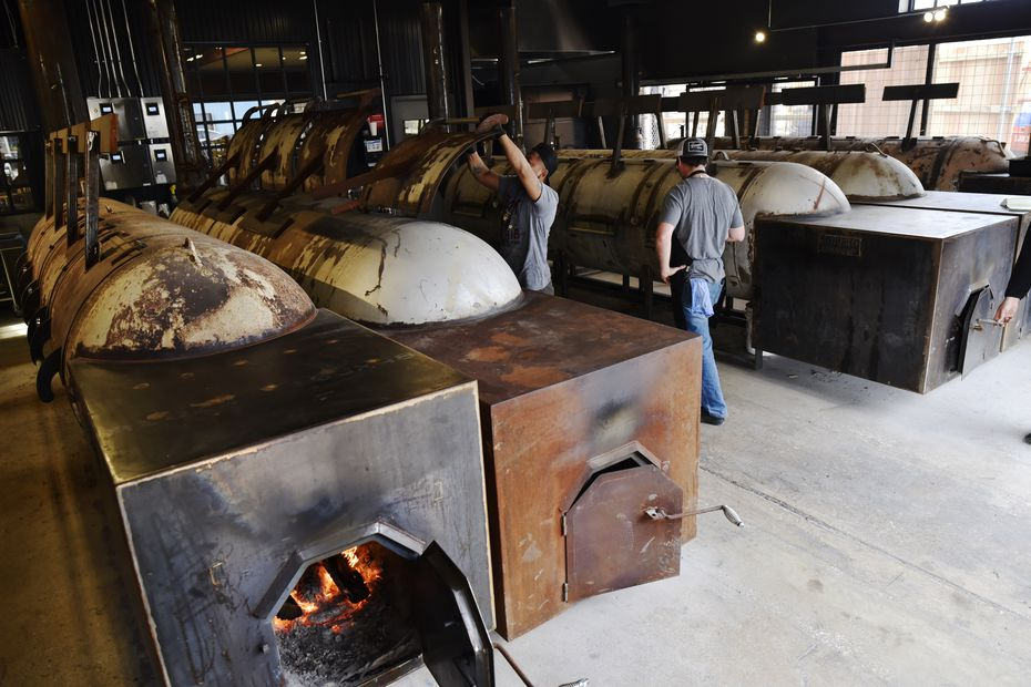 Five big offset smokers are on display at Terry Black's Barbecue in Dallas. Go talk to the pitmasters and they'll explain their methods: Briskets are rubbed with salt, pepper and seasoning salt, then smoked low and slow for just over 12 hours.
