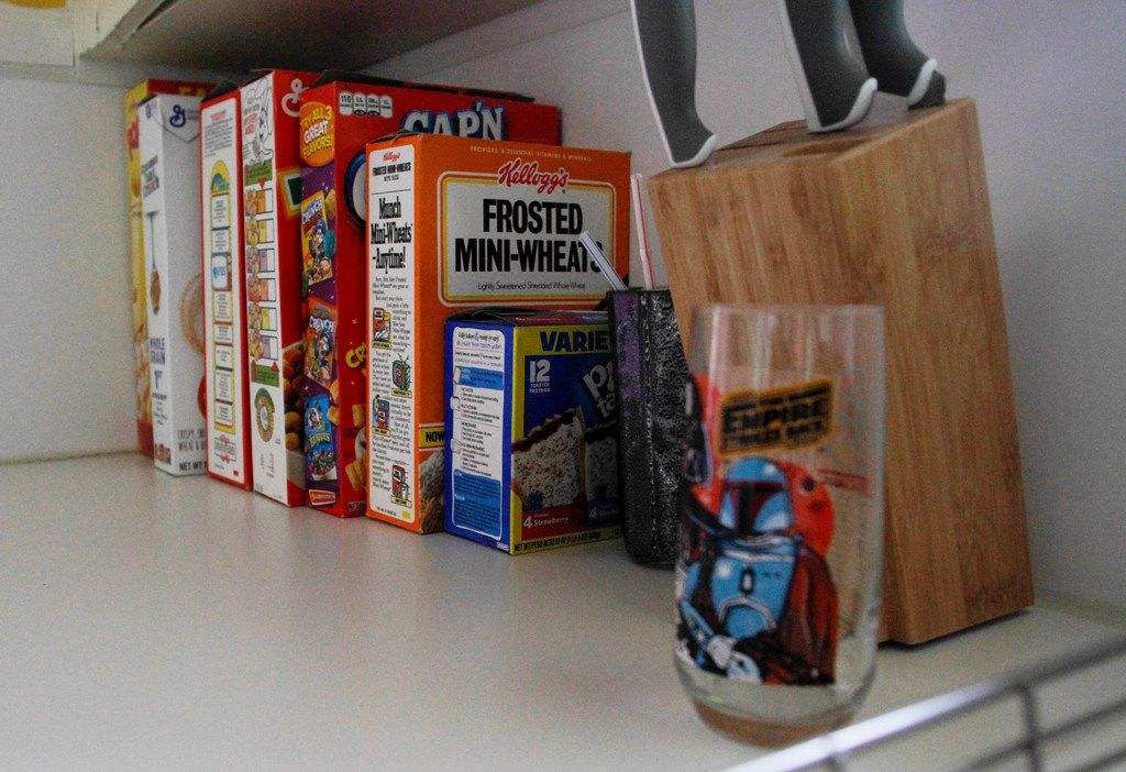 The cereal buffet in The McFly.