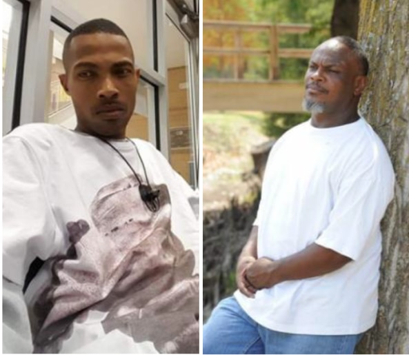 Marco Clewis (left) and Buris Earl Clewis were killed within minutes of each other last month — Marco in a shooting and Buris in a car crash as he chased after the suspects.
