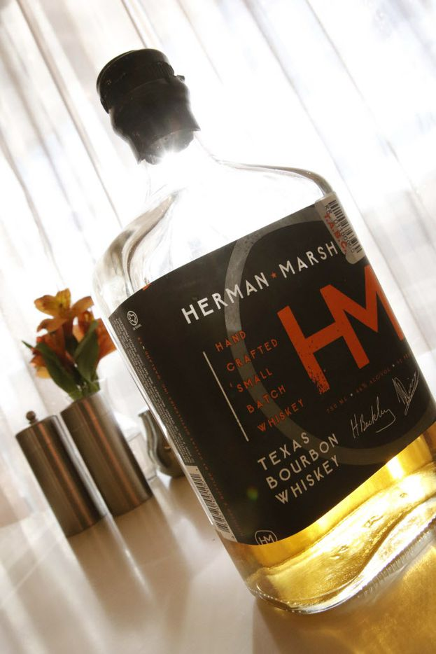 Herman Marsh Texas Bourbon is among the popular brands carried in the bar.