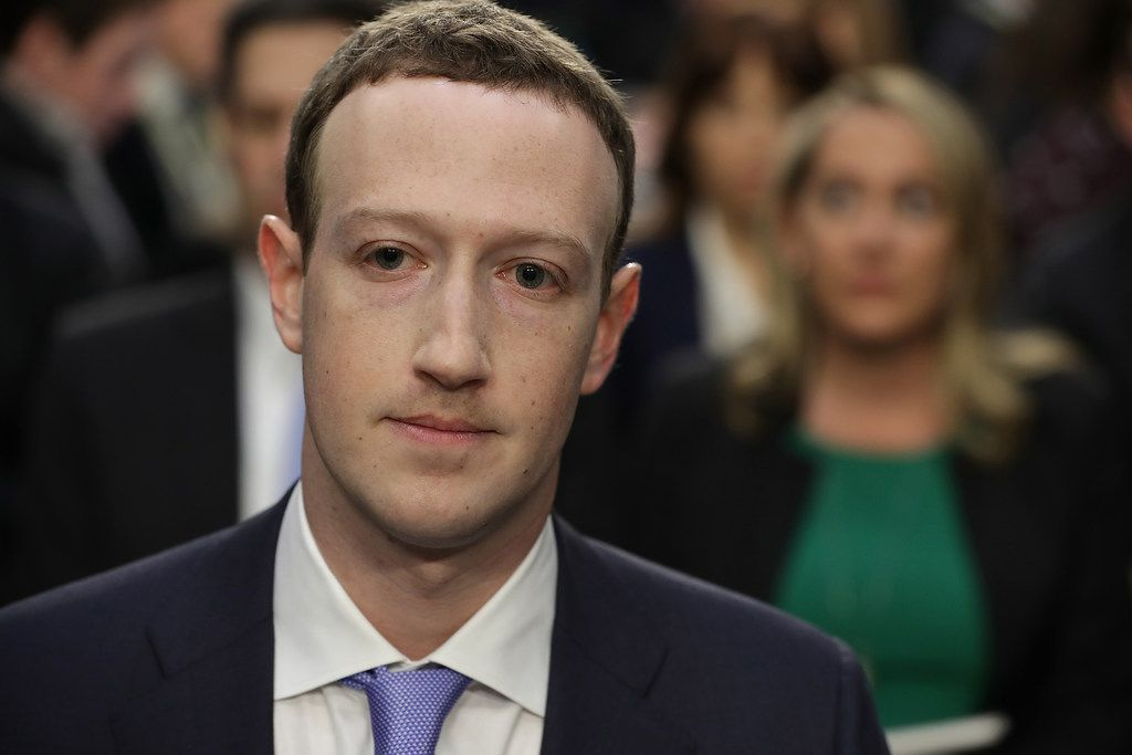 Facebook co-founder, chairman and CEO Mark Zuckerberg testified before a combined Senate Judiciary and Commerce committee hearing in Washington, D.C., in April 2018.