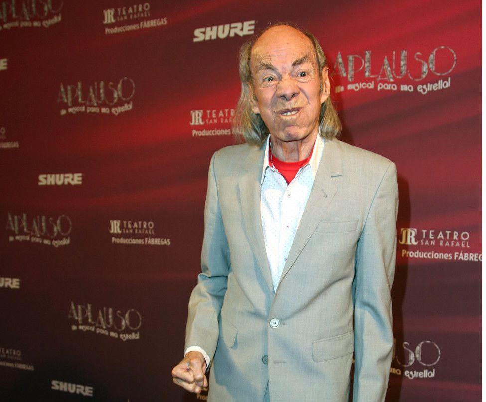 """El actor Manuel """"El Loco"""" Valdés dijo que tiene un tumor maligno en la frente, por lo que será atendido antes de comenzar temporada con la obra Aeroplanos./ AGENCIA REFORMA"""