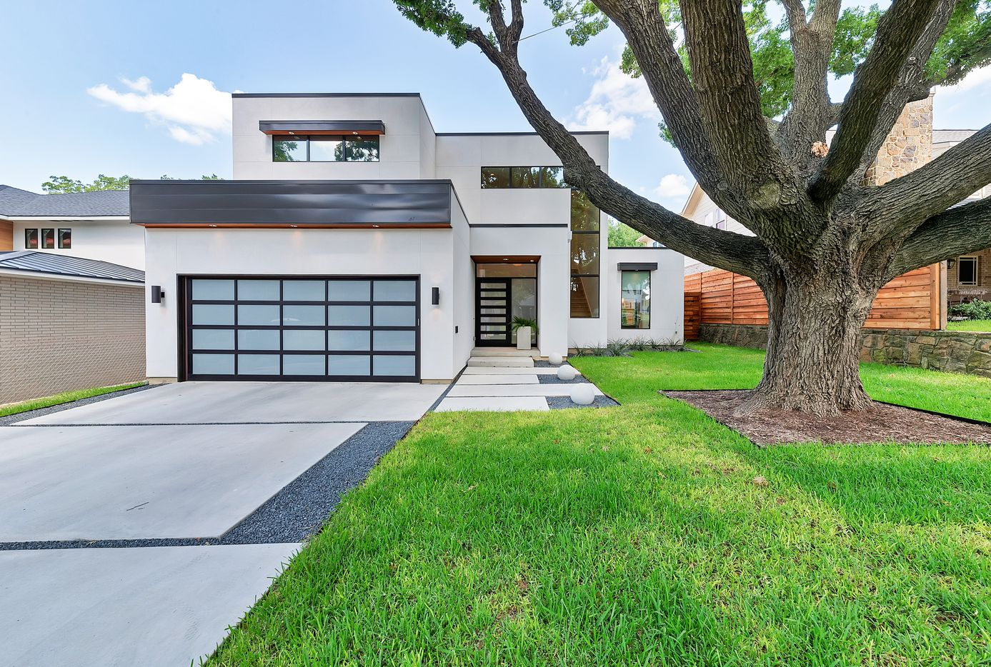 The Northwest Dallas house has 3,800 square feet.