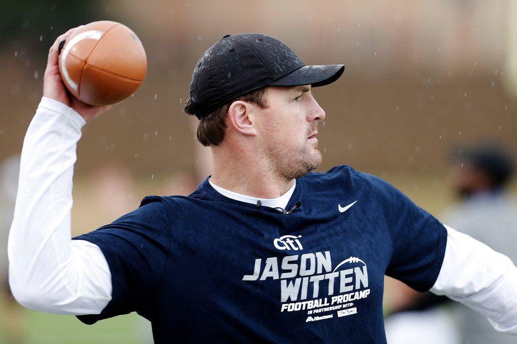 El veterano receptor Jason Witten de los Cowboys de Dallas. DMN