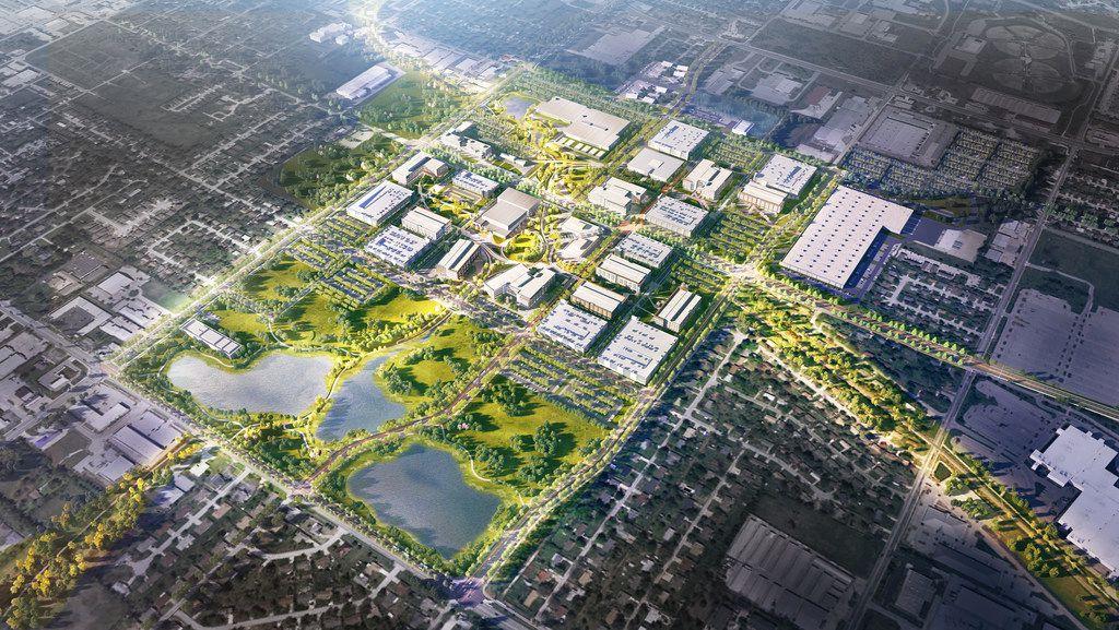 Walmart is planning a new headquarters campus in Bentonville, Arkansas.