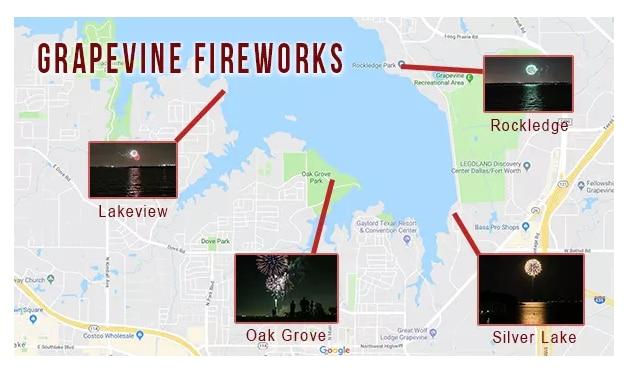 Desde donde ver los fireworks