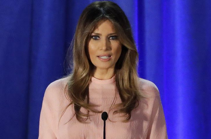 Melania Trump/ AP