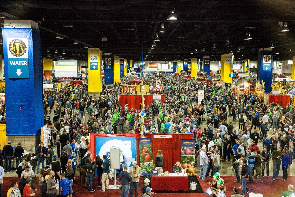 About 50,000 people annually attend the Great American Beer Festival in Denver, which celebrated its 35th anniversary this year. Breweries nationwide serve more than 3,500 beers.