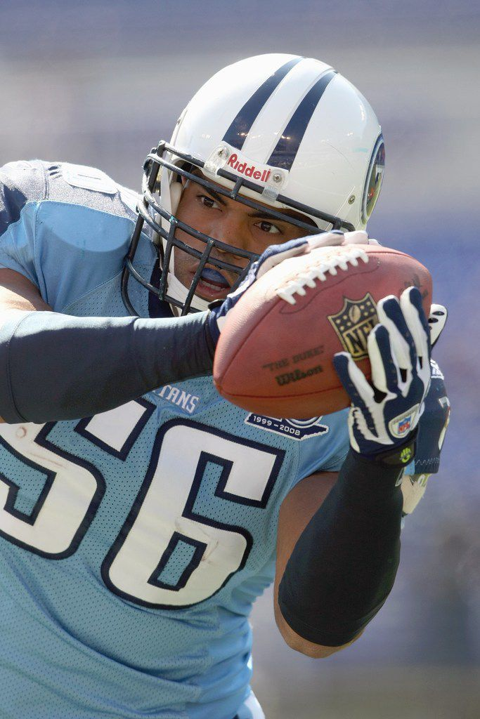 Colin Allred played for the Tennessee Titans before his political career.