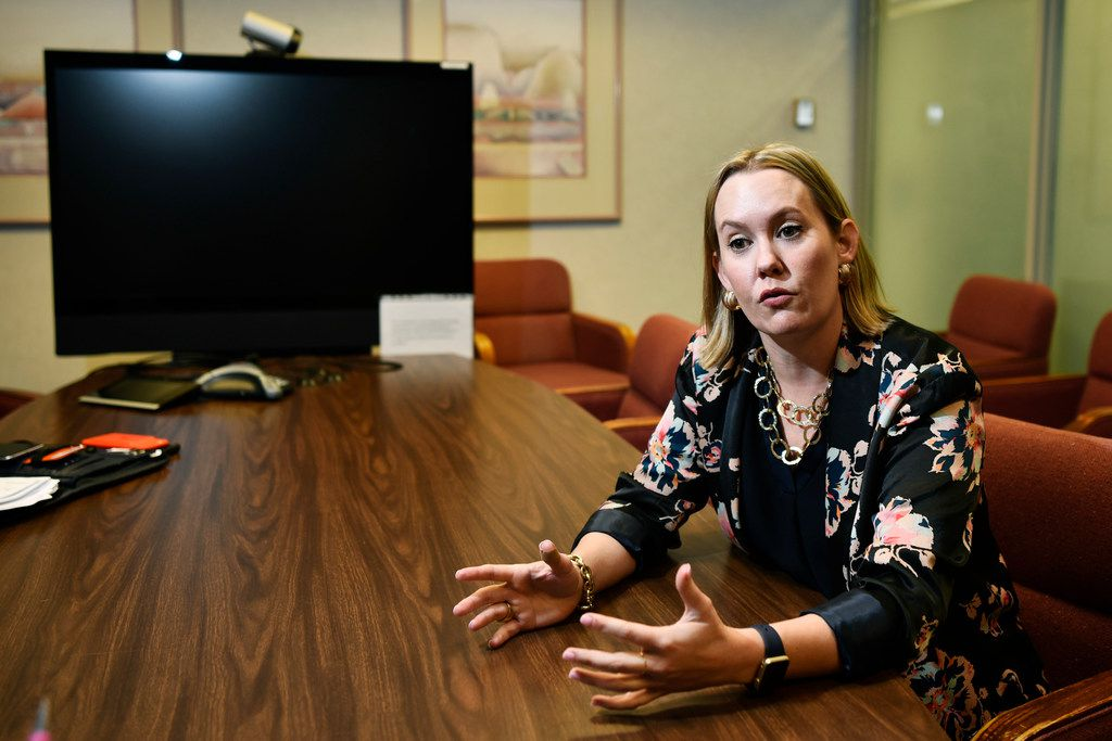Anne Idsal, the new regional administrator for Region 6 with the U.S. Environmental Protection Agency, discussed her new role Tuesday morning.