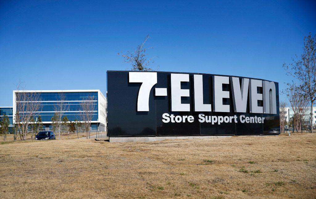 The new 7-Eleven headquarters is located in Irving, Texas, Monday, January 23, 2017. (Tom Fox/The Dallas Morning News)