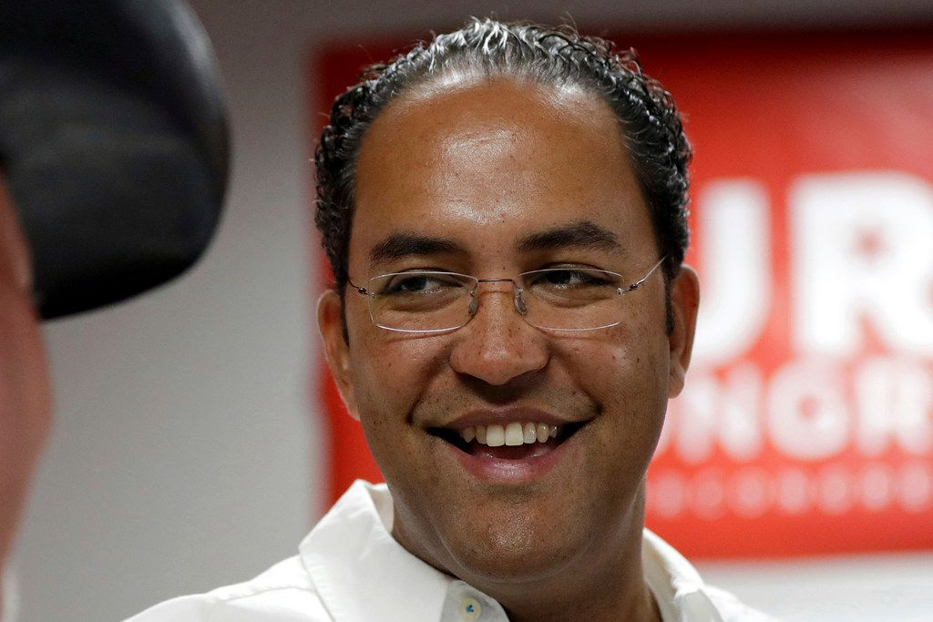 Republican U.S. Rep. Will Hurd in August 2016