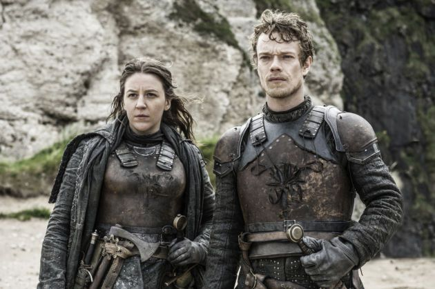 Even though they had to make a run for it, seeing Yara and Theon working together was a refreshing moment.