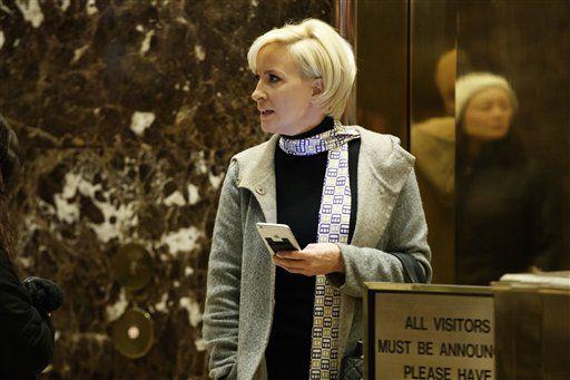 """Mika Brzezinski es la presentadora del programa """"Morning Joe"""" de la cadena MSNBC./AP"""