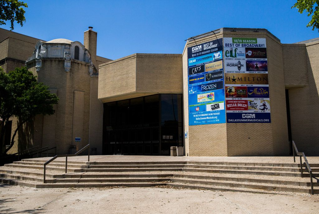 The Music Hall at Fair Park, shown on June 18, 2019, has had leaks for a long time, recalls one reader who performed onstage after a rainstorm.  (Ashley Landis/The Dallas Morning News)
