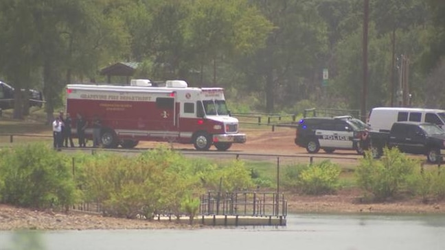 A woman and her son are in critical condition after being pulled from Grapevine Lake Tuesday, officials said.