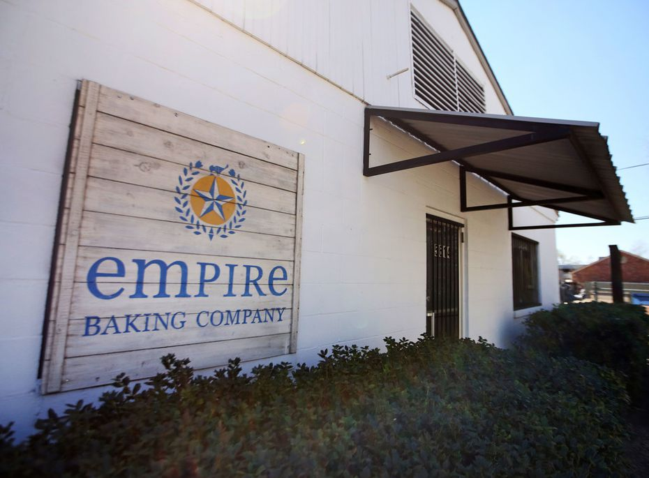 Empire Baking Company's main facility is located on East University Boulevard in Dallas. But sorry, you're not invited inside unless you're a baker. (They do have a retail shop on West Lovers Lane.)