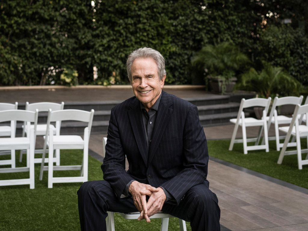 Writer-director-actor Warren Beatty in Los Angeles in October. (Emily Berl/The New York Times)