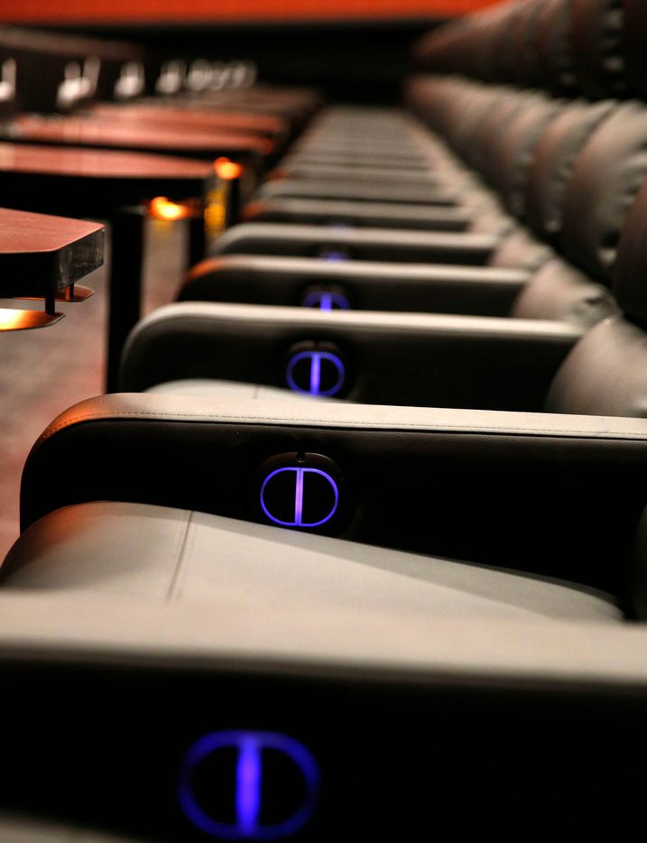 All the seats at Alamo Drafthouse in Lake Highlands -- that's more than 800 -- recline. The movie theater opens March 20.
